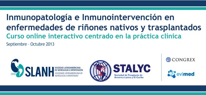 Materiales de Inmunopatología e Inmunoprevención en enfermedades de riñones nativos y trasplantados 2013