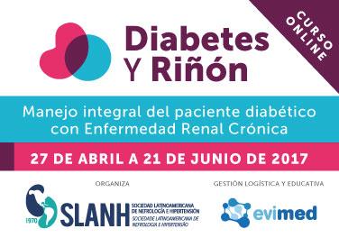 Diabetes y Rinón: Manejo integral del paciente diabético con Enfermedad Renal Crónica
