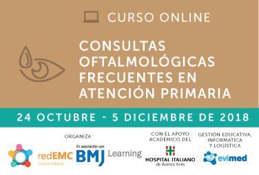 Consultas oftalmológicas frecuentes en atención primaria