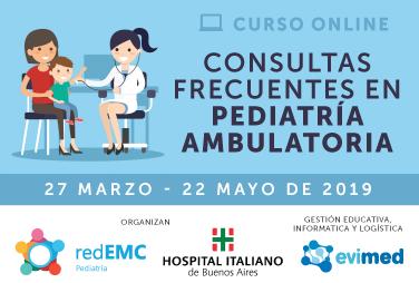 Consultas frecuentes en pediatría ambulatoria