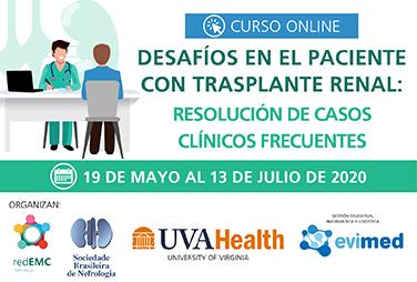 Desafíos en el paciente con trasplante renal: resolución de casos clínicos frecuentes
