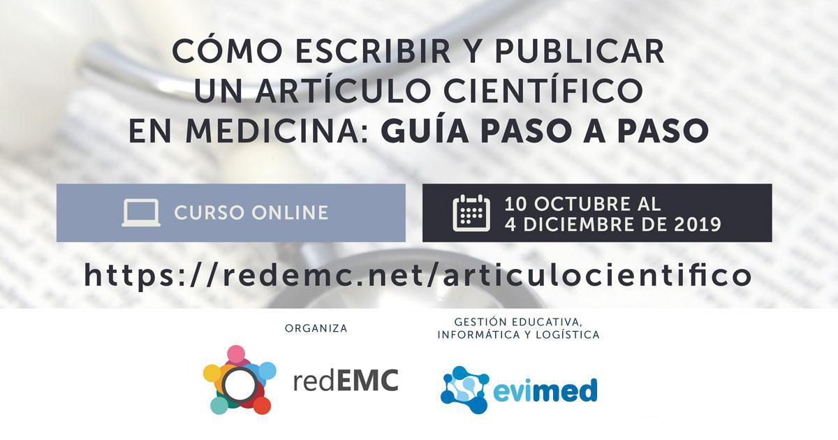 Cómo escribir y publicar un artículo científico en Medicina - RedEMC.net